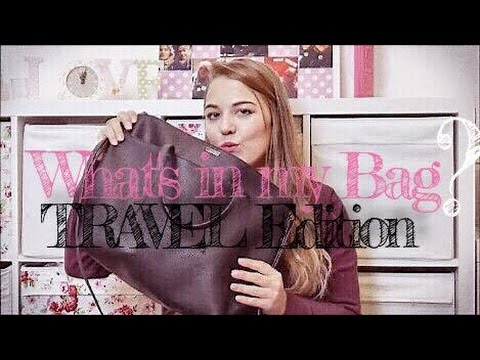 What´s in my Travel Bag - IN FLIGHT ESSENTIALS I Vrenschdressing