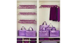 JOY Huggable Hangers 72pc Set with Reusable Tote Bags  C...