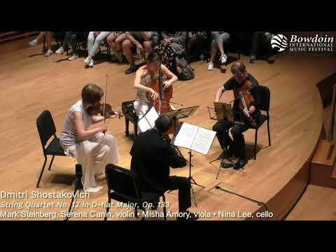Shostakovich: String Quartet No. 12 | Brentano String Quartet