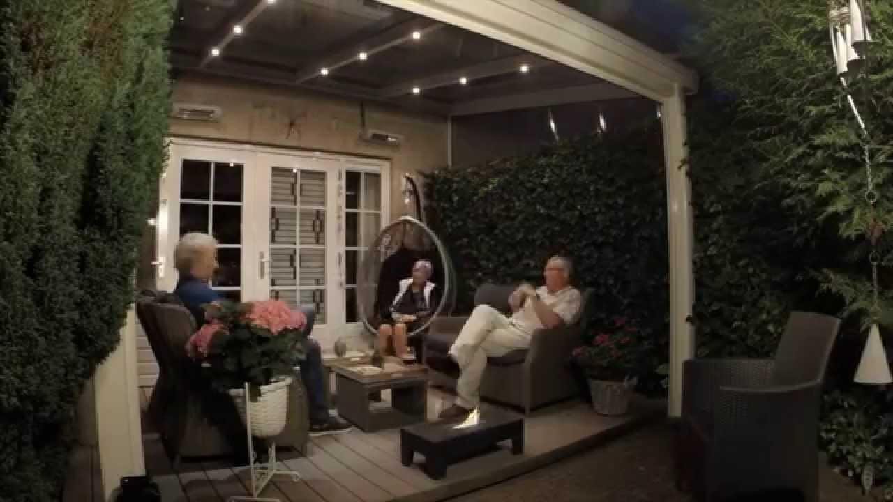 Ambiance goes terras overkapping vakantie aan huis youtube - Een terras aan het plannen ...