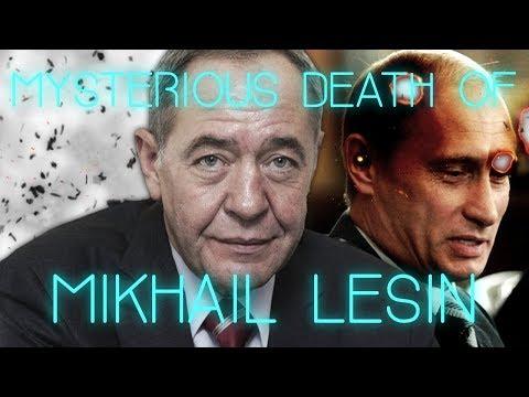 The Mysterious Death of Mikhail Lesin