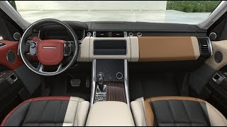 2018 RANGE ROVER SPORT Interior - All Colors Options