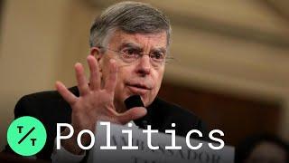 Impeachment Hearing: GOP Lawyer Grills Taylor, Kent on Hunter Biden, Burisma