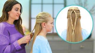 So Erstellen Sie eine Meerjungfrau Schleife Zopf | Einfache Geflochtene Frisuren