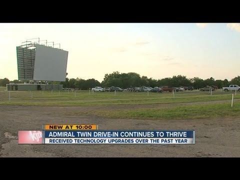 Admiral Twin DriveIn is a continued success, one year after reopening