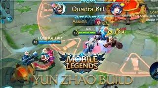 Mobile Legends: Zilong Unstoppable Build