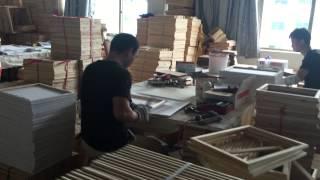 Город Иу Китай   картины по номерам фабрика в городе Иу(www.optlogistic.com посещение фабрики выпускающей картины для раскрашивания по номерам, с нашей помощью клиент..., 2015-07-26T12:49:30.000Z)