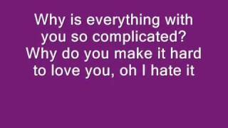 Rihanna Complicated-Lyrics