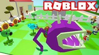 PLANTS VS ZOMBİES ROBLOX'TA / Roblox Plants vs Zombies / Roblox Türkçe