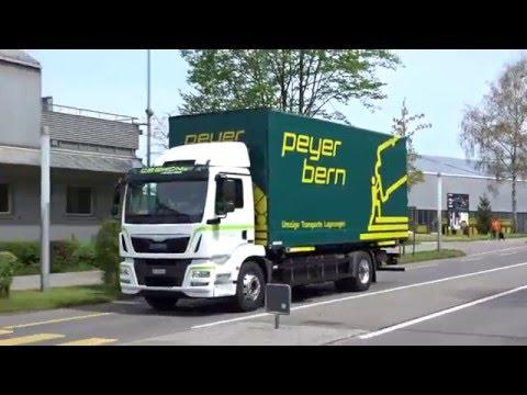 Electric Power Truck Ride / Peyer Bern