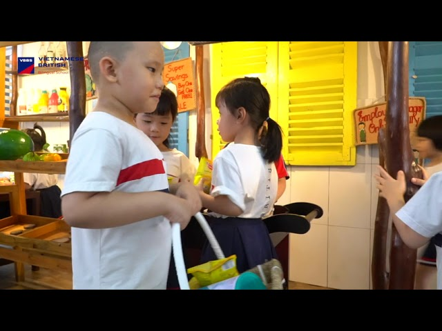 DRAMATIC PLAY GROCERY STORE - BLUE 4 ( VBBS 2 )
