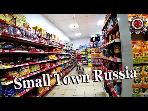 Real Russia 2018 Inside The Local Village School And The Stores In The Big Settlement