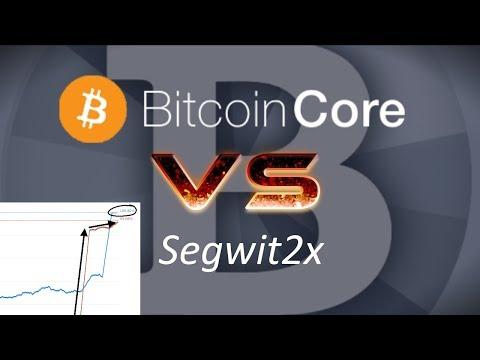 Bitcoin Core Declares WAR on Segwit2x