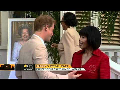 CBS This Morning - Prince Harry in Jamaica: A little silly, a little serious