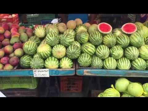Farmer's Market : San Jose, Costa Rica : Green Market -- Guadalupe, Costa Rica