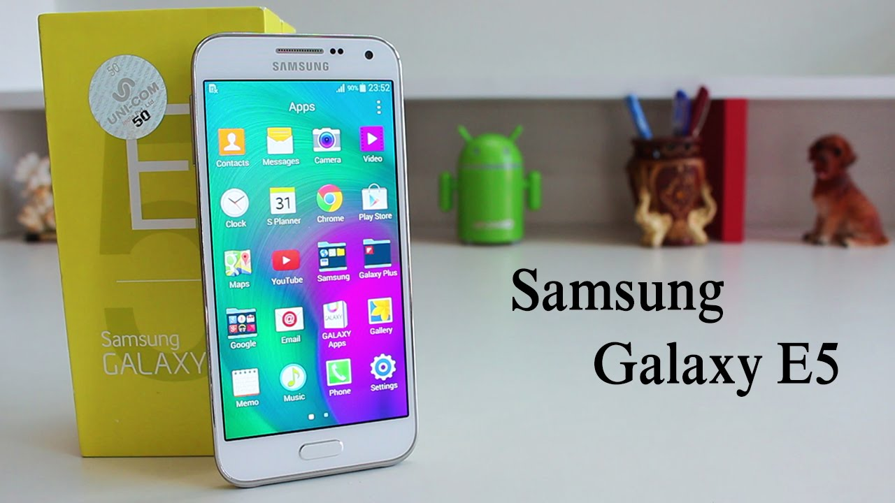 Samsung Galaxy E5 Unboxing Quick Review Youtube