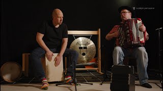 """Voitonpäivä"" – Accordion and Cajon Improvisation"