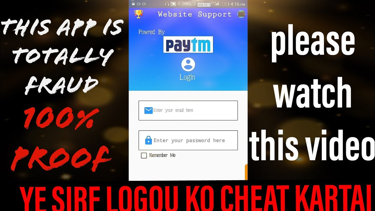 FRAUD Paytm web support dashboard is here is proof | tech