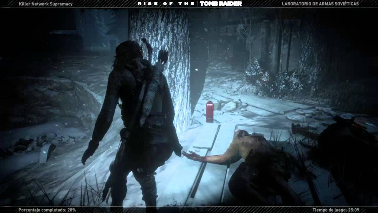 Rise of the tomb raider cold darkness awakened gameplay - Rise of the tomb raider cold darkness ...
