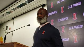 Illinois HC Lovie Smith- postgame Penn State 9/21/18