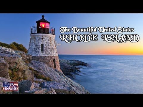 USA State of Rhode Island Symbols / Beautiful Places / Song RHODE ISLAND's IT FOR ME w/lyrics