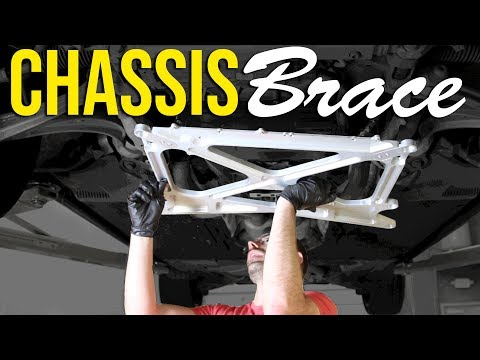 How to install a Chassis Brace   B8.5 Audi S4