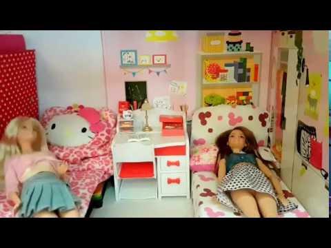 ละครบาร์บี้ (Barbie) เรื่อง บาร์บี้เที่ยวโรงแรมผี มอนสเตอร์ไฮ  (◕‿◕✿)