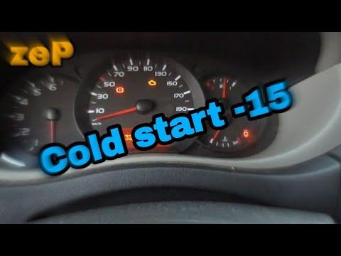 ZeP Renault Master3 Cold Start (холодный запуск -15)