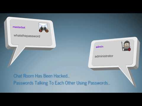 Real Passwords Talking To Each Other After Hacking Like Bots Or AIs Were Doing That - funny video