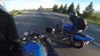 CB1 400 Argentina Salida 11-09-2016 video 3
