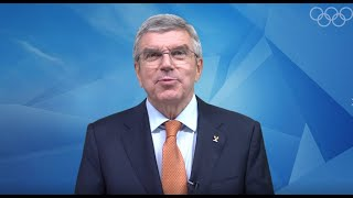 Taekwondo Day - Congratulatory message from IOC President Thomas Bach
