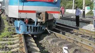 Катастрофа на железной дороге. Поезд Одесса - Луганск.