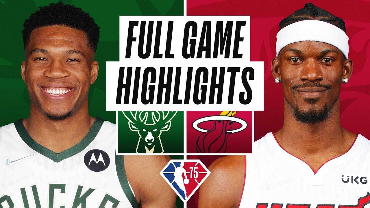 An analysis of Thursday night's Miami Heat-Milwaukee Bucks