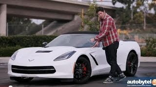 2014 Chevrolet Corvette Stingray Convertible Test Drive Video Review