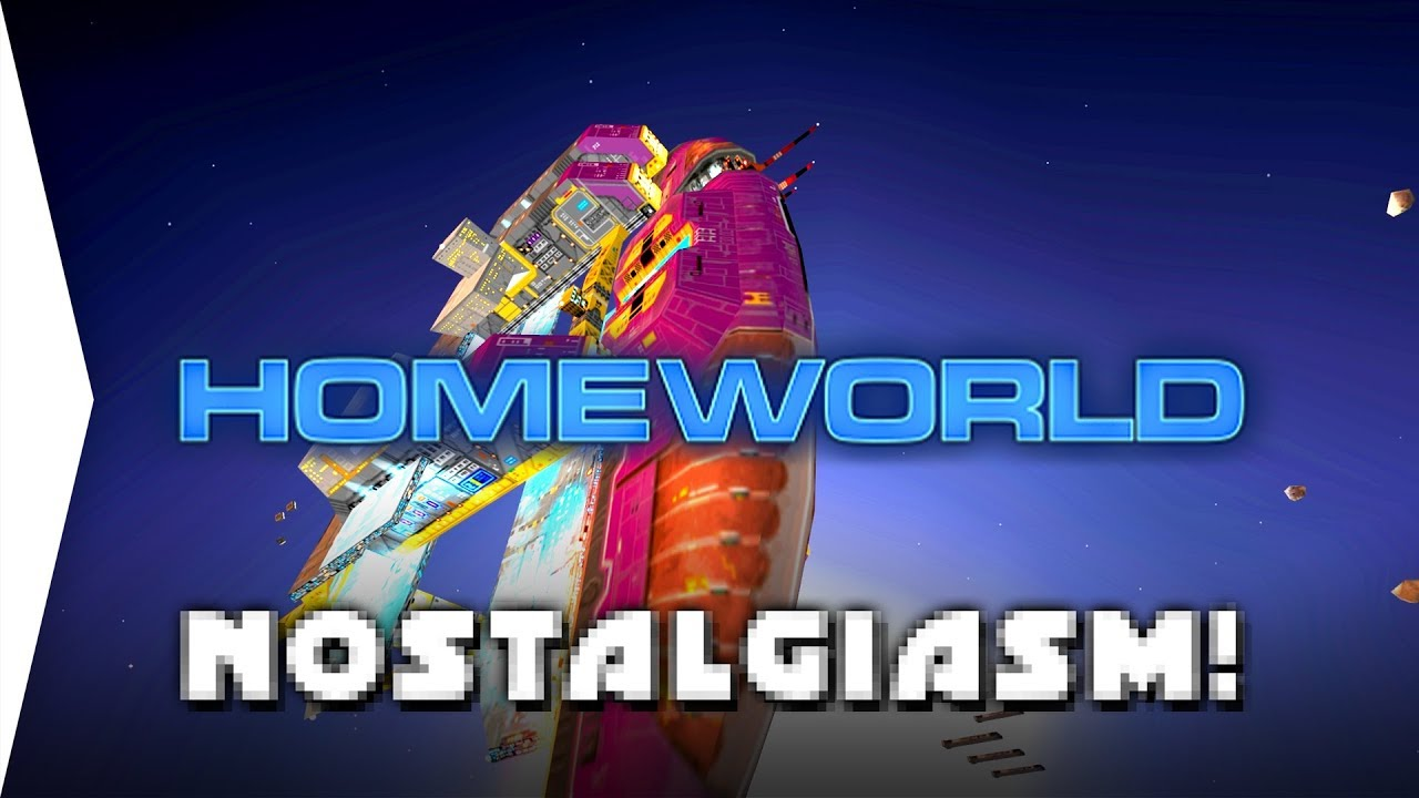 What a Classic! - Homeworld 1 HD ► RTS & Nostalgia Strategy Gameplay in  Widescreen! - [Nostalgiasm]