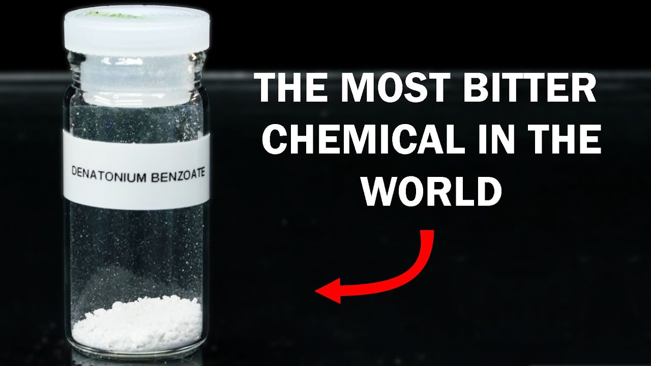 Making Denatonium Benzoate (most bitter compound known)