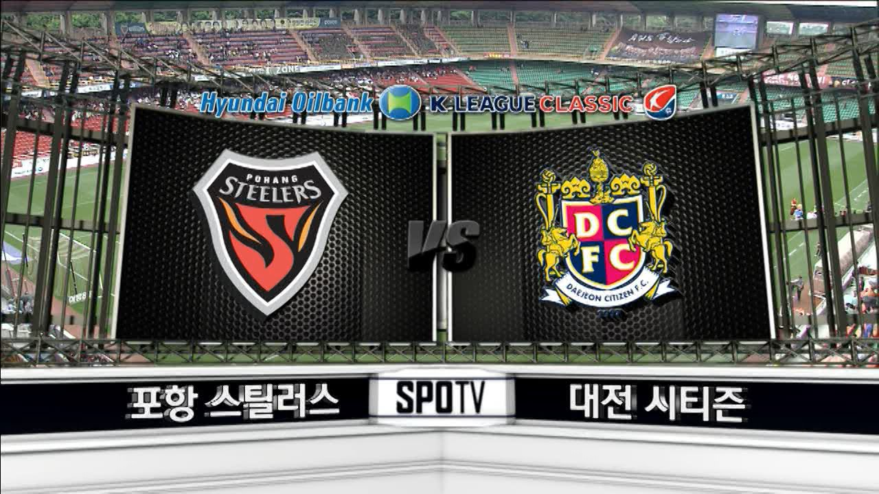 Pohang Steelers 2-1 Daejeon Citizen