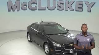A97924GP 2015 Chevrolet Cruze 1LT FWD 4D Sedan Test Drive, Review, For Sale -