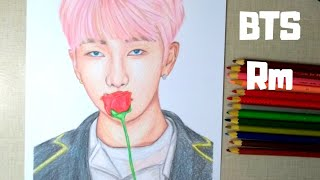 Hello! finally our leader rm is here ^^ i hope you like my drawing of namjoon from bts next little bunny jungkook ( never intendeed for him to be on...