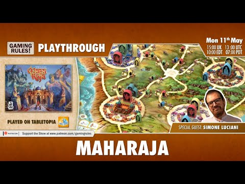 Maharaja - Tutorial And Playthrough With Simone Luciani