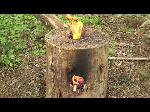 How To Make A Wooden Rocket Stove
