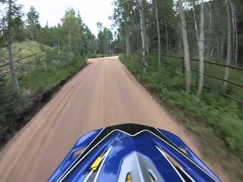 400EX's cruising through mountains and trails at high elevation, July 2015