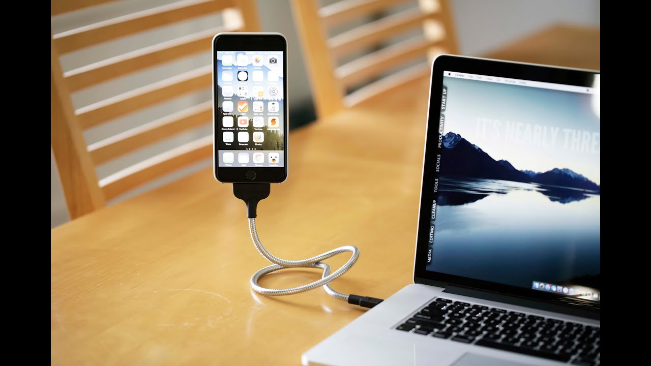 Flexible Iphone Charger