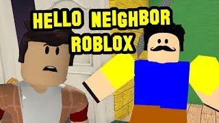 Hello Neighbor Roblox - Hello Creepy Neighbor! Beta I