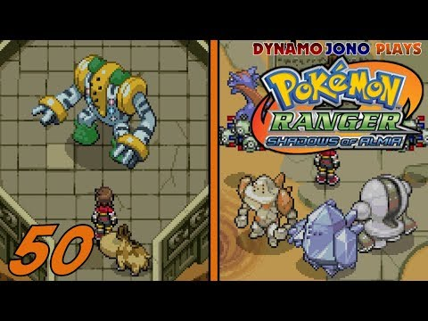 Pokémon Ranger: Shadows Of Almia   Part 50 (Finale) - Capturing The Legendary Titans & Regigigas