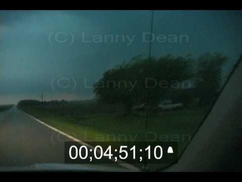 Greensburg Tornado!! Deadly Greensburg Kansas Tornado filmed while it hits Greensburg!!