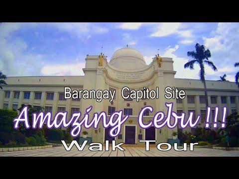 Cebu Philippines ( Brgy. Capitol Site Walk Tour)