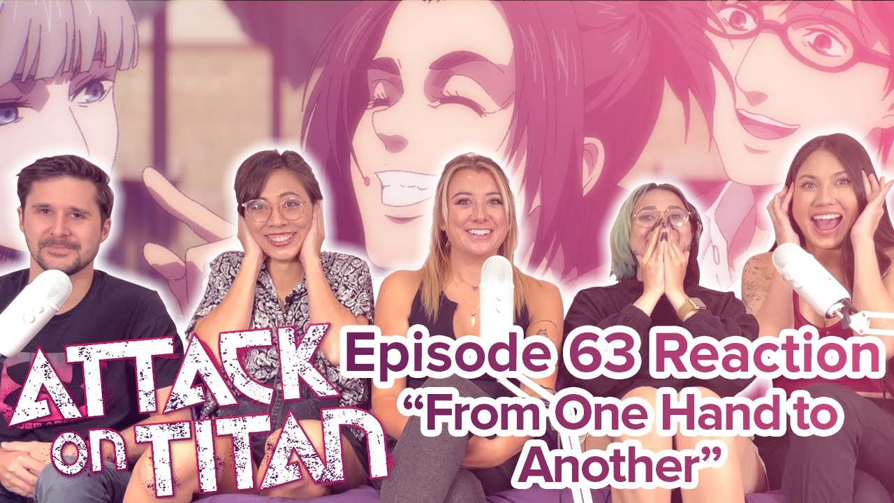 Attack on Titan - Reaction - S4E4 - From One Hand to Another