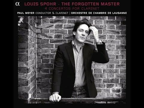 1/3 Adagio Allegro - Louis Spohr Clarinet Concerto N°1 Op.26, Paul Meyer