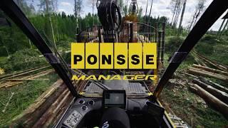 PONSSE Manager (POL) - EFEKTYWNOŚĆ, WYDAJNOŚĆ, INFORMACJA